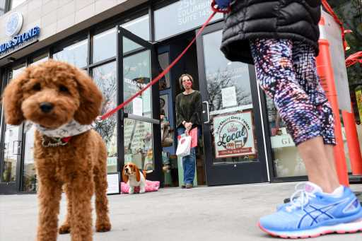 Some Denver retailers that reopened this weekend saw light traffic