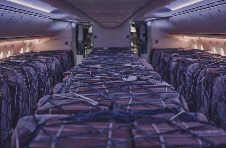 As passengers disappeared, airlines filled planes with cargo