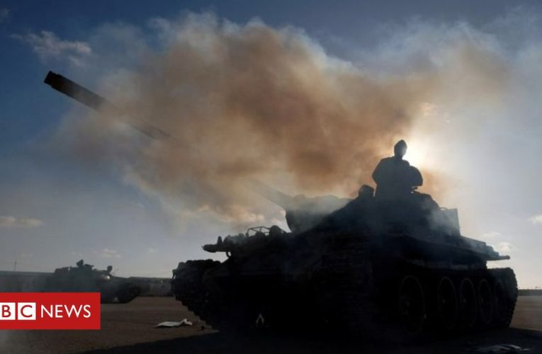 Russian group Wagner 'fighting in Libya'