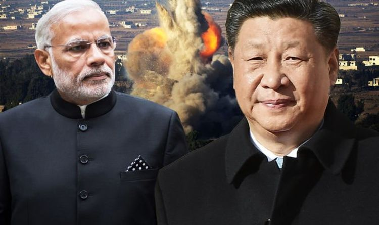 China sparks fears of nuclear war with India as Beijing amasses troops on border