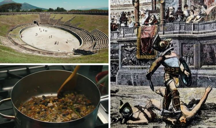Pompeii breakthrough: 'Superfood' of Roman gladiators exposed after bone analysis