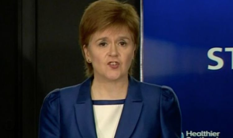 Sturgeon urges Boris to extend support for businesses as she announces £230m for Scotland