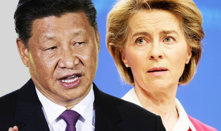 EU fury: Ursula von der Leyen accuses China of launching attacks on European hospitals