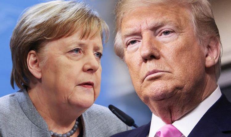 Trump and Merkel at WAR: Germany furious at US prepares sanctions over EU-Putin pipeline