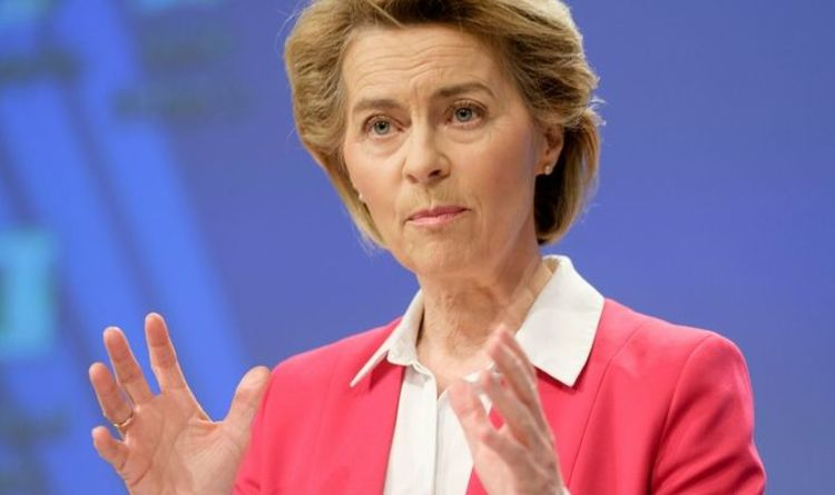 Brexit ultimatum issued by Von der Leyen as EU boss boasts Brussels ready for no deal