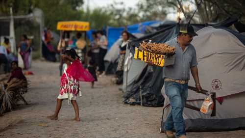 Coronavirus case in refugee camp on US-Mexico border raises alarm