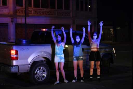 Denver protests: Arrests drop on sixth night of George Floyd demonstrations