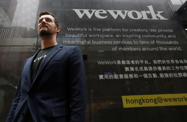 WeWork co-founder McKelvey to leave company by June end