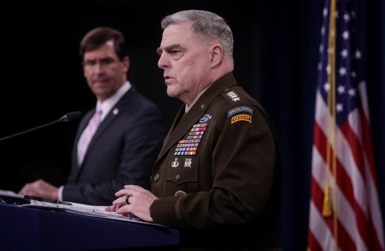 After rebuke, top U.S. general says joining Trump church walk during protests was 'mistake'