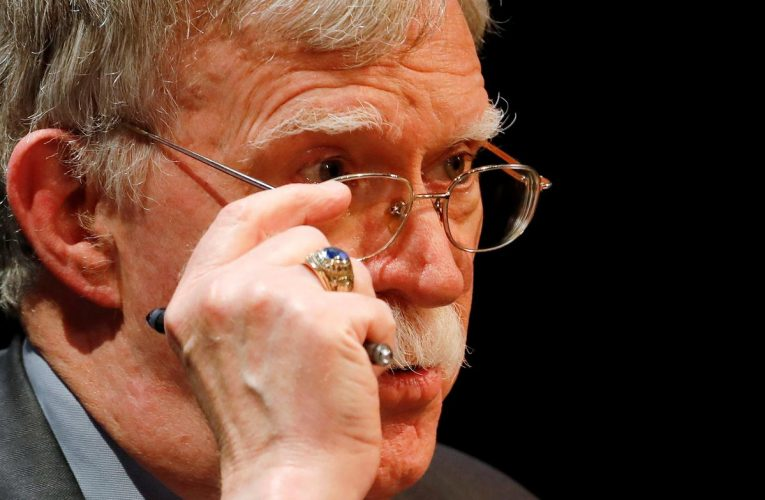 U.S. judge denies Trump's bid to block Bolton's book but criticizes ex-adviser