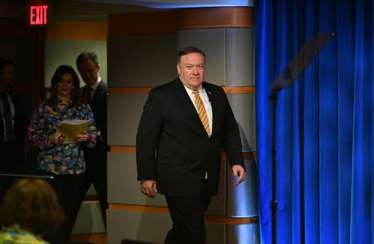 Pompeo calls China Muslim sterilization reports 'shocking' and 'disturbing'
