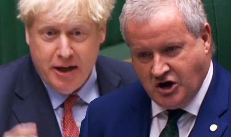 SNP's Ian Blackford fuming as Boris destroys devolution plot: 'You'll hand power to EU!'