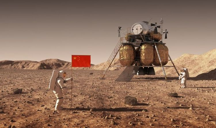 Space race: China to launch landmark mission to Mars TODAY with US hot on its heels