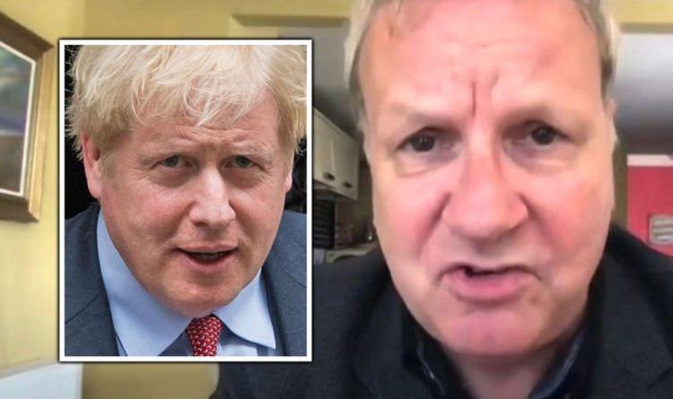 Sky host dismantles SNP MP after he claims Boris Johnson is an 'Eton buffoon'