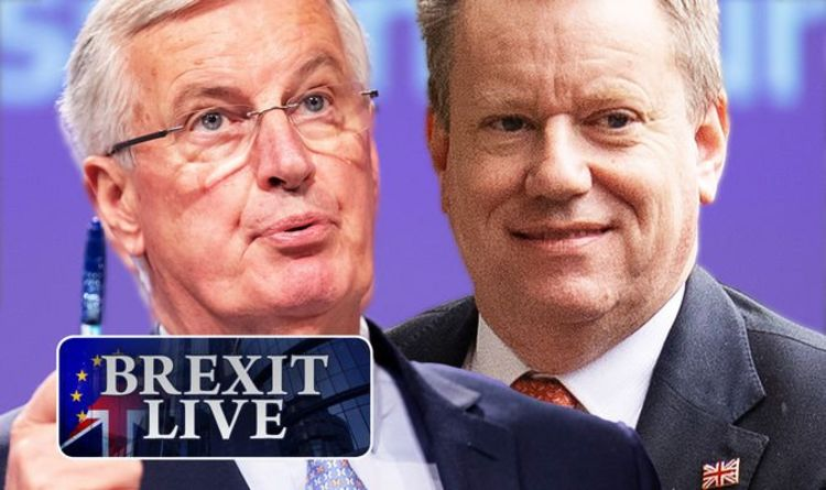 Brexit LIVE: One month to go… don't mess this up, Michel! Tense dinner ends with warning