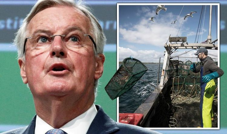 EU still doesn't get it! Brussels tells UK hand over fishing access as it's 'no big deal'