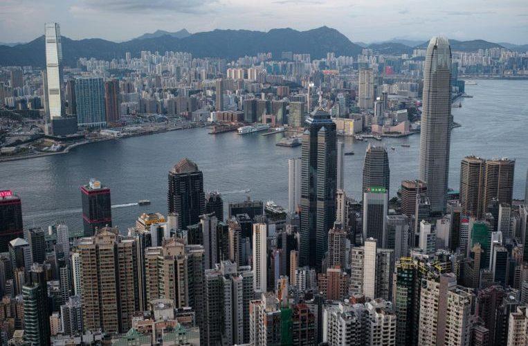 Hong Kong commercial lenders on edge as building values tumble