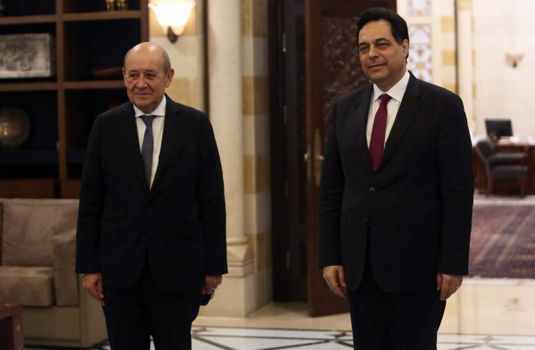 France's foreign minister visits crisis-hit Lebanon to urge reform