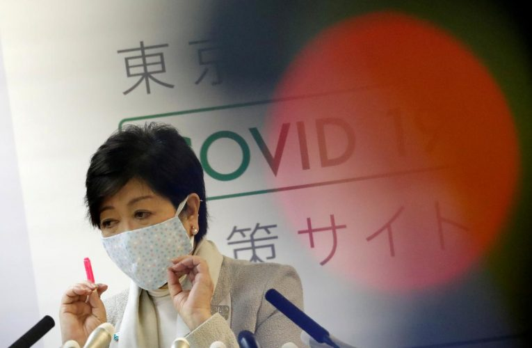 Tokyo's first woman governor set for re-election even as coronavirus cases rise