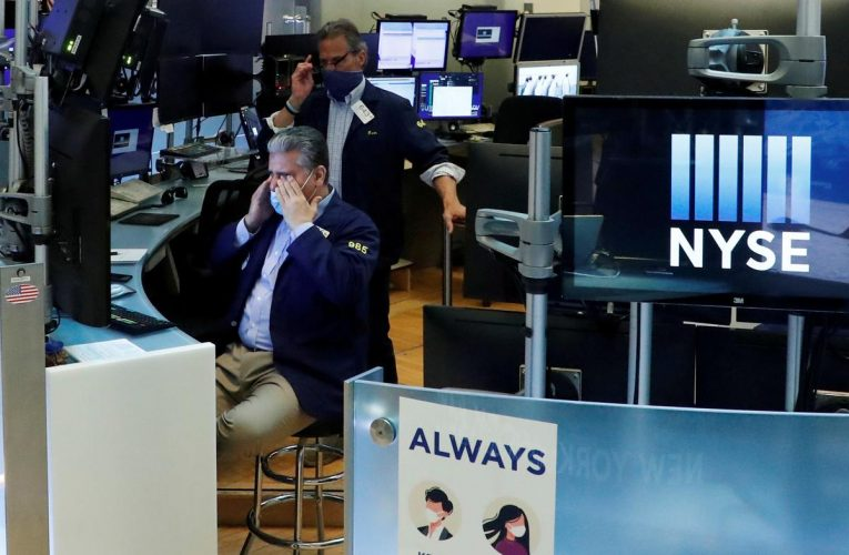 Stocks jittery as record U.S. virus count weighs on risk appetite