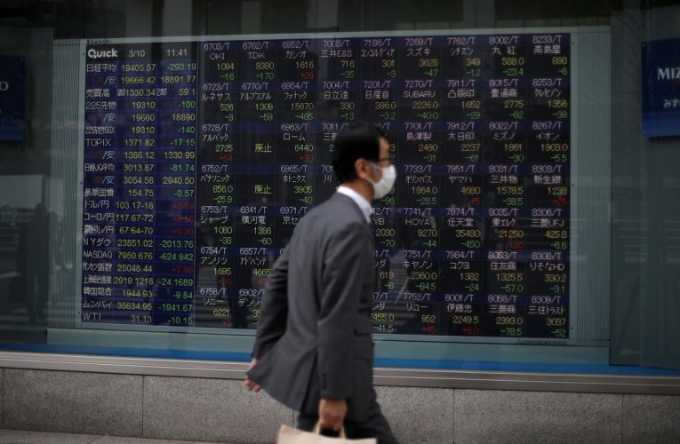 Asian shares climb, U.S. earnings to test dogged optimism
