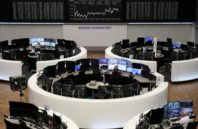 Euro zone shares flat as EU recovery plan awaited; Ericsson soars