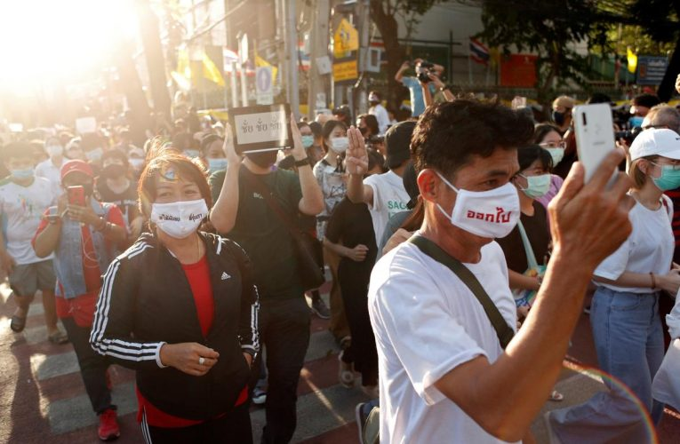 'Delicious taxes': Thai protesters use Japanese cartoon hamster to mock government