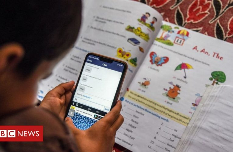 Online classes expose India's digital divide