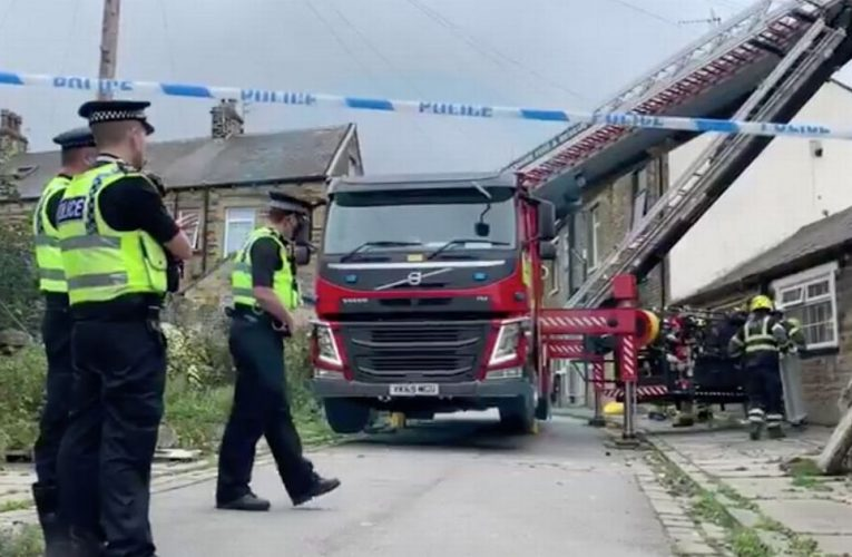 Man, 47, dies after roof of house collapses into bedroom in Bradford