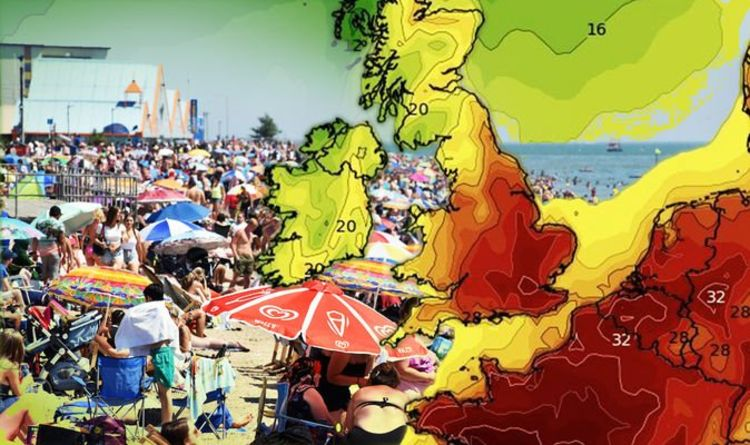 UK heatwave latest: Will YOUR area reach 37C? Latest weather maps