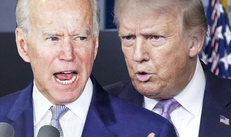 US election polls: Joe Biden SEVEN points ahead – but can you trust the polls?