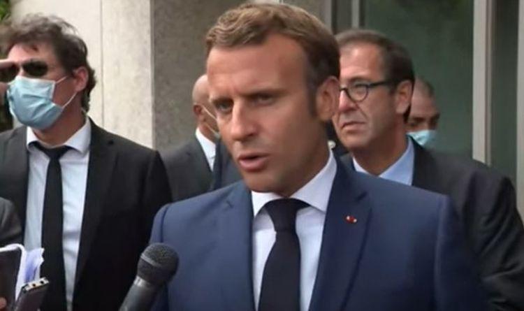 'France is watching!' True reason Emmanuel Macron visited Beirut so soon after disaster