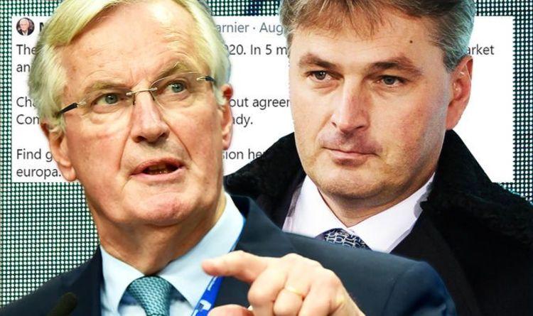 EU desperation: Barnier's 'trolling' reveals last-minute attempt to force UK to back down