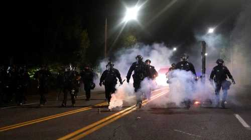 """Denver officials denounce """"rioters,"""" """"anarchists"""" who damaged property, set fires during anti-police demonstration – The Denver Post"""