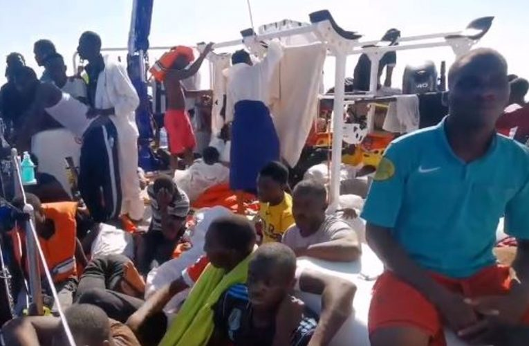 Banksy-funded migrant rescue boat nearing 'state of emergency' in Mediterranean Sea