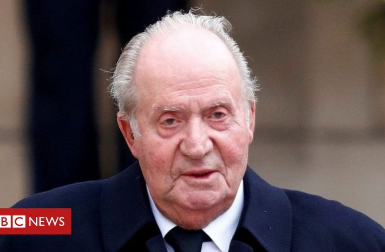 Spain puzzles over former king's whereabouts