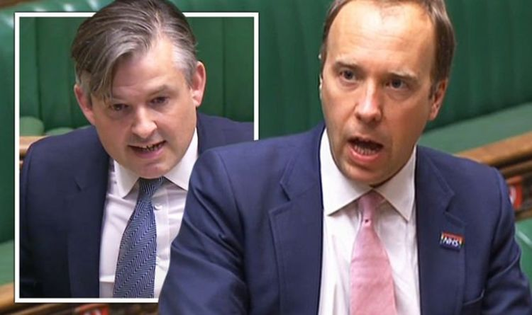 Matt Hancock shames Ashworth with exact COVID testing figures in Commons humiliation
