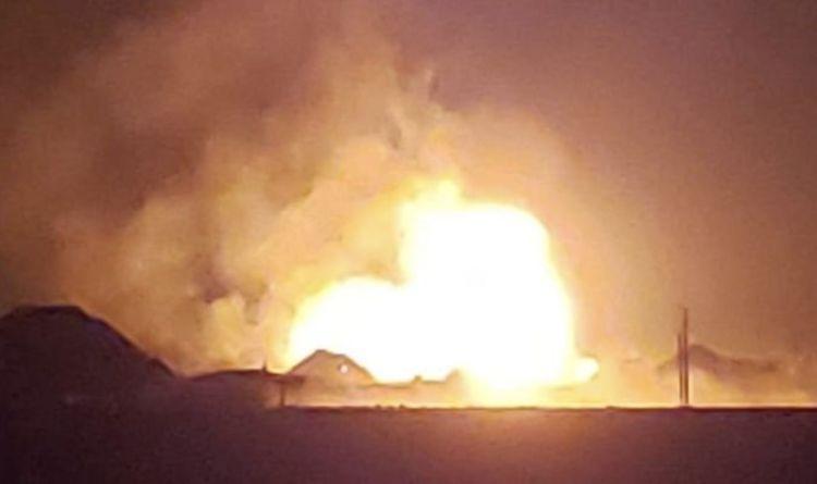 Oklahoma explosion: Huge blast and 'massive flames' spotted in US  – 'Sky glowed orange'