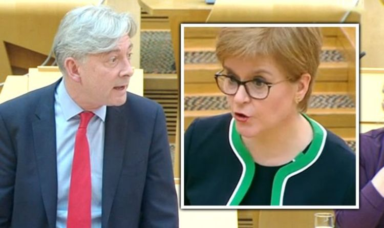 Sturgeon squirms when confronted over paradoxical COVID-19 demands to frontline workers