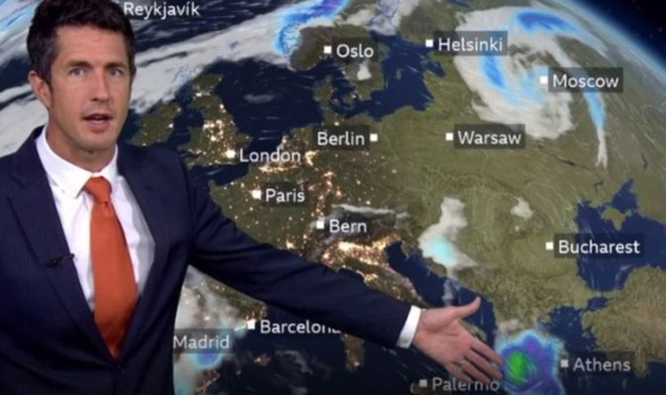 BBC Weather warning: Europe to be rocked by 'Mediterranean cyclone' and flash flooding