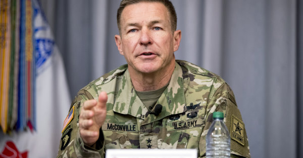 Army chief disputes President Trump's claim that military leaders want to fight wars