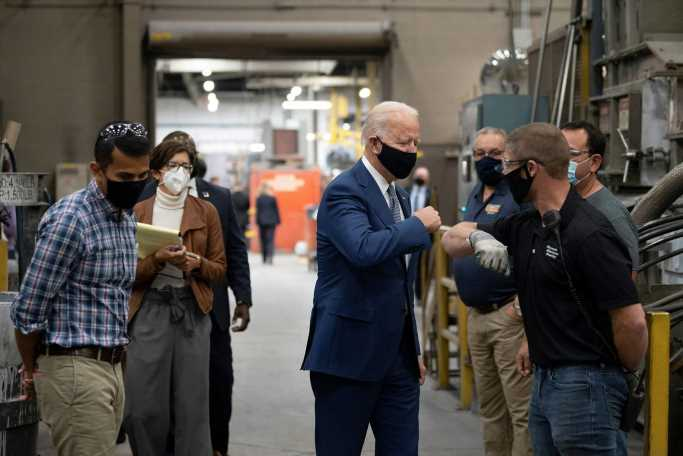 Biden campaign plans travel around competitive Senate races