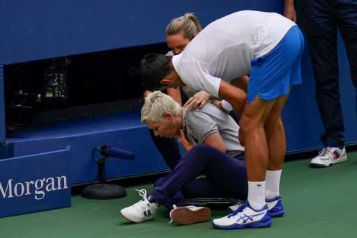 Novak Djokovic out of US Open after hitting line judge with ball – The Denver Post