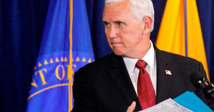 Mike Pence backs out of Trump fundraiser hosted by QAnon supporters