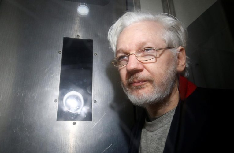 Assange warned he will be removed from London court if outbursts continue