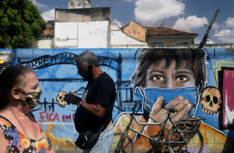 Brazil's coronavirus cases pass the four million mark: ministry