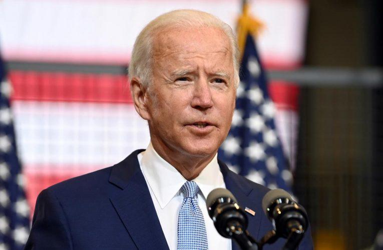 Biden looks to keep campaign focus on Trump's coronavirus response
