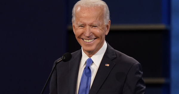 Yahoo News/YouGov poll: With one week left, Biden's lead over Trump grows to 12 points