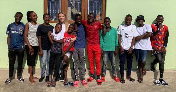 Brit woman, 26, adopts 14 kids after spending gap year at African orphanage