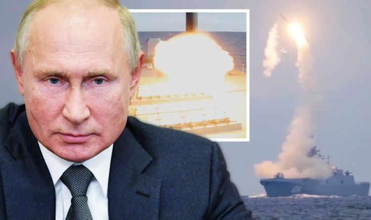 Russia celebrate Putin's birthday with TERRIFYING display of military might